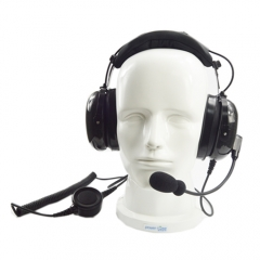 Super- light weight top noise reduction headset