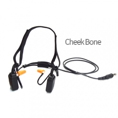 Military high noise canceling Bone conduction headset