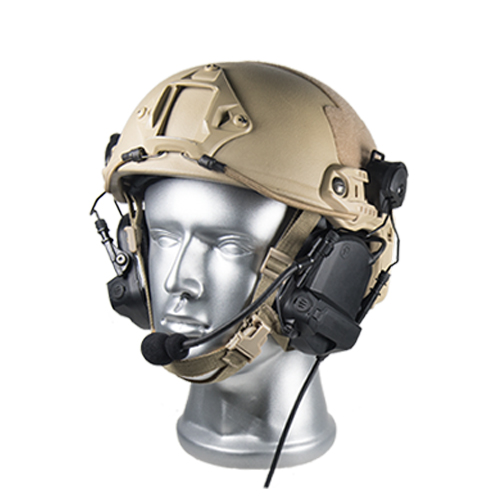 DF-5 FAST Hearing protection situational awareness tactical headset for combat helmet