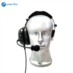Single sided headset / noise-cancelling headset